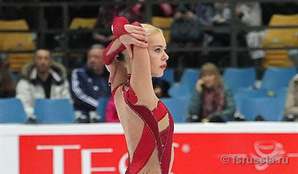Русская фигуристка Анна Погорилая выиграла этап Гран-при вЯпонии
