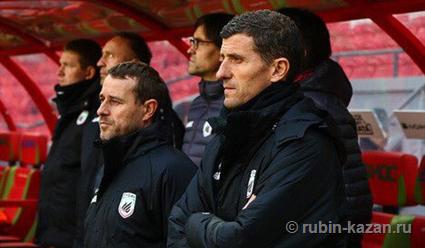 Грасия покинул пост основного тренера «Рубина»