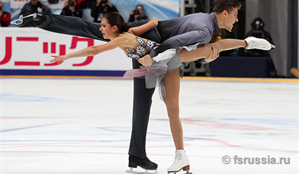 Фигуристы Тарасова иМорозов выиграли вфинале Гран-при вМарселе