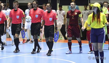 Вфинал ЧМ-2016 помини-футболу сыграет сборная РФ иАргентины