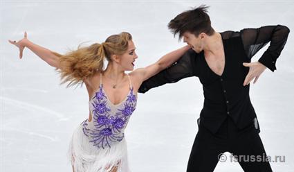 Александра Степанова и Иван Букин – вторые после короткого танца на чемпионате Европы в Москве