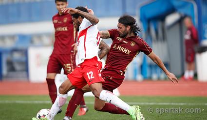 «Спартак» проиграл «Рубину» вконтрольном матче