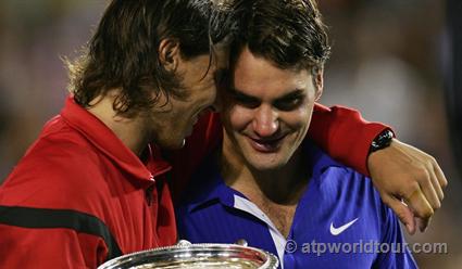 Вфинале Открытого чемпионата Австралии сыграют Надаль иФедерер