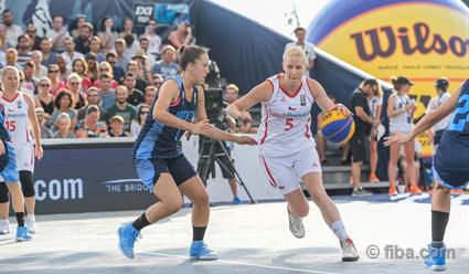ЧМпобаскетболу 3х3. Женщины. Российская Федерация выиграла уКиргизии иГермании