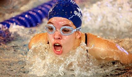 Катинка Хошсу вплавании комплексом на400м установила мировой рекорд