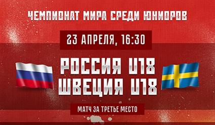 Хоккейная молодежная сборная РФ впервый раз зашесть лет завоевала медали наЧМ
