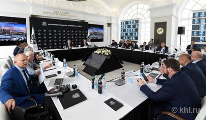 Президент СКА Геннадий Тимченко переизбран напост председателя Совета начальников КХЛ