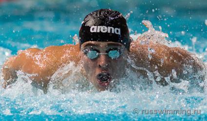Садовников вышел вфинал Олимпиады вплавании на100 метров баттерфляем