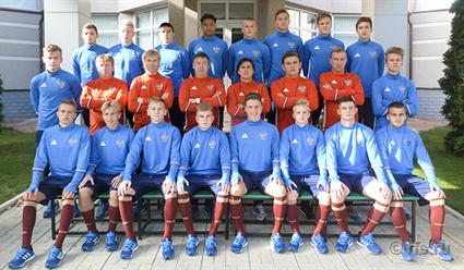 Сборная РФ одолела Латвию вматче отборочного раунда Евро-2017 U17
