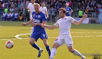 Футболисты «СКА-Хабаровска» пробились вРФПЛ