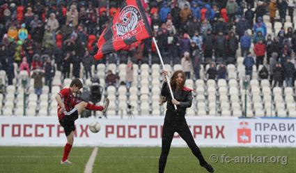 «Амкар» сыграл вничью с«Тереком»