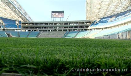 Стадион «Фишт» вСочи обещали сдать вэксплуатацию 30ноября