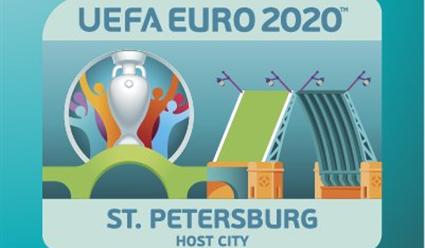 ВПетербурге представили эмблему города-организатора Евро