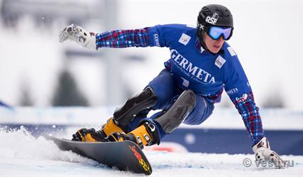 Сноубордист Логинов стал 3-м впараллельном слаломе наэтапеКМ вИталии