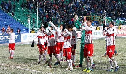 Победная серия «Спартака» вРФПЛ была прервана разгромом вСамаре