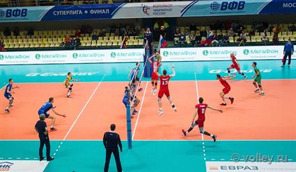 Стали известны все полуфиналисты чемпионата России по волейболу