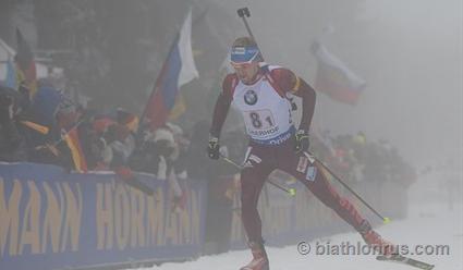 Гонка втумане: сборная Швеции выиграла мужскую биатлонную эстафету вОберхофе