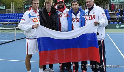 Русские  теннисисты проиграли сербам вматче 1/8 финала Кубка Дэвиса