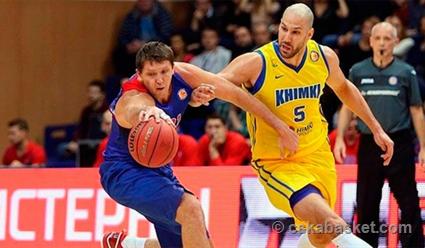 ЦСКА победил «Химки» иво 2-ой встрече финала Единой лиги