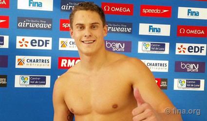 Пловец Морозов установил мировой рекорд настометровке