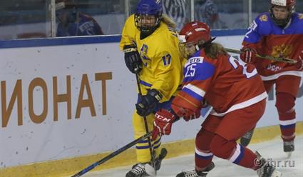 Хоккей. Женский молодёжный ЧМ U18. Полуфинал. Швеция- Россия