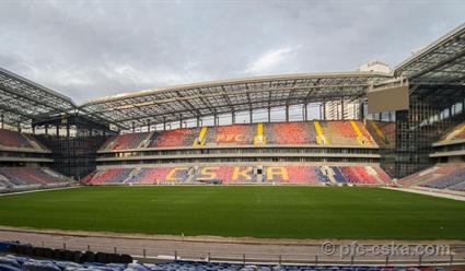 Проведена госрегистрация права собственности ПФК ЦСКА настадион «Арена ЦСКА»
