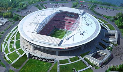 Генподрядчик «Зенит-Арены» остановил строительство стадиона