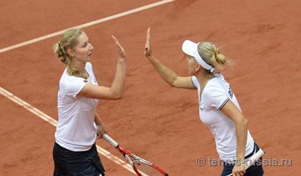 Макарова иВеснина вышли вполуфиналUS Open впарном разряде
