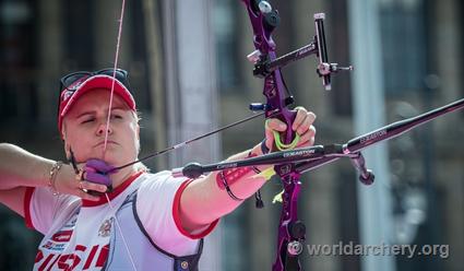 Перова завоевала золото чемпионата мира пострельбе из традиционного лука