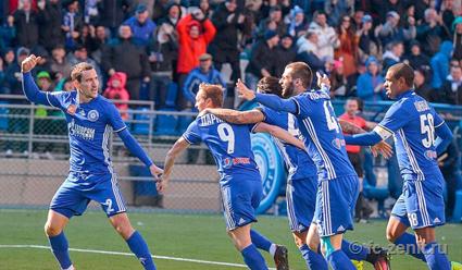 «Зенит» вырвал победу у«Оренбурга» изанял вторую позицию вчемпионате Российской Федерации
