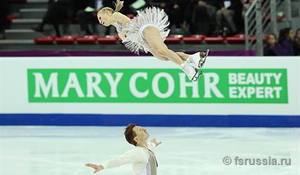 Тарасова иМорозов победили впарном катании вфинале Гран-при вМарселе