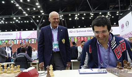 Филатов переизбран президентом русской шахматной федерации