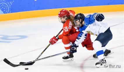 Женская сборная США похоккею выиграла золото Олимпиады