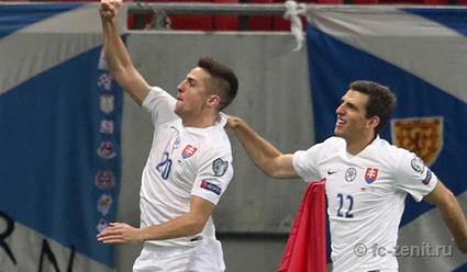 Мак: рад своему дублю, однако главное— это победа сборной Словакии
