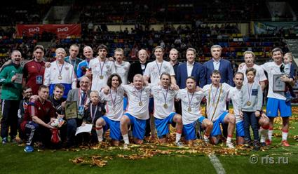 Сборная Российской Федерации выиграла Суперкубок легенд