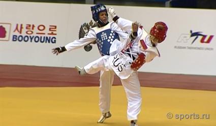 Челябинская тхэквондистка завоевала серебро чемпионата мира