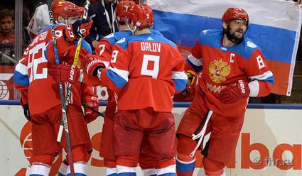 НаКубке мира похоккею РФ сыграет против Финляндии