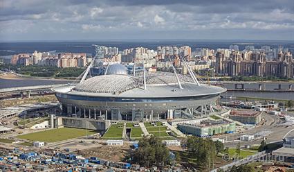 «Зенит» планирует осваивать новый стадион «Санкт-Петербург Арена»