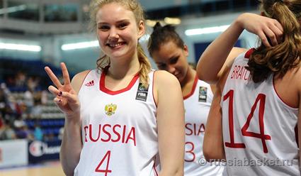Русские баскетболистки обыграли швейцарок ивышли в заключительную частьЧЕ