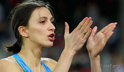 ЧМполегкой атлетике: Юлия Левченко завоевала «серебро» впрыжках ввысоту