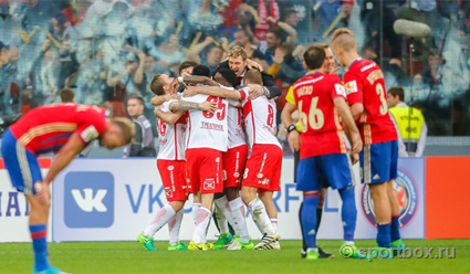 ЦСКА победил «Амкар» иподнялся на 2-ое место