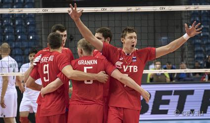 Сборная РФ  поволейболу стала чемпионом Европы