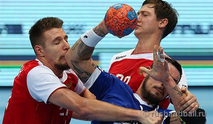 Мужская сборная РФ не угодила начемпионат Европы