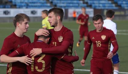 Молодежная сборная Российской Федерации обыграла Фарерские острова вквалификационном матче чемпионата Европы