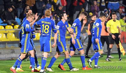 «Ростов» расправился с«молодежной командой» «Томи». Девич забил гол