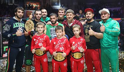 ВГрозном для Кадырова устроили детские бои, омбудсмен нарушений неувидел