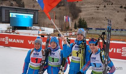 Саратовский биатлонист одержал победу мировое «золото»