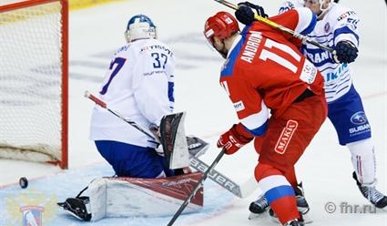 Русские хоккеисты взяли реванш наЕврочеллендже срезультатом 6:0