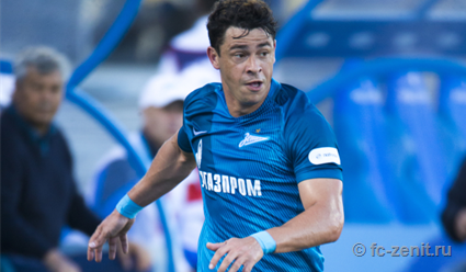 Дубль Жулиано неоставил шансов «Амкару» вматче с«Зенитом»