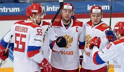 Сборная РФ похоккею обыграла сборную Чехии наКубке Карьяла